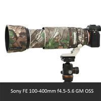 Waterproof Camera Lens Wrap Cover Coat for Sony FE 100-400mm f4.5-5.6 GM OSS