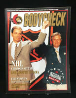 Vintage Ottawa Senators Bodycheck Magazine Mike First 1991 Inaugural Issue