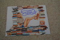 PAMELA ANDERSON sexy signed Autogramm 20x25 cm In Person