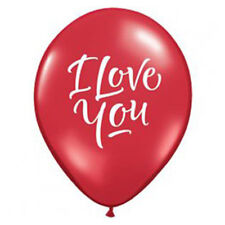 Party Supplies Wedding Birthday  I Love You Script Latex Balloons Pack of 10