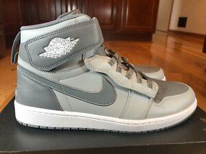 Nike Air Jordan 1 Hi Flyease Light Smoke Grey White CQ3835 003 Size 13 NOBOXTOP