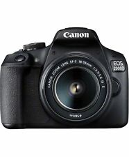 Canon EOS 2000D DSLR Camera with EF-S 18-55 mm f/3.5-5.6 IS II Lens