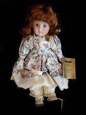 "Seymour Mann Connisseur Doll Collection 14"" high Flora"