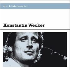 Die Liedermacher: Konstantin Wecker   - CD NEUWARE