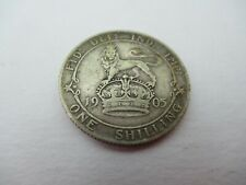 More details for 1905 shilling silver high grade