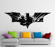 Batman Wall Decal Dark Knight Vinyl Sticker Comics Art Decor Home Mural (303z)