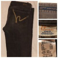 CITIZENS OF HUMANITY SIENNA STRETCH CORDUROY JEANS LOW RISE STRAIGHT LEG SIZE 27