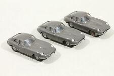 457 Typ 1C Wiking Jaguar E 1964 - 1994 / umbragrau - Lot defekter PKWs
