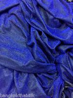 "Pale Gray Lycra Crystal Shiny 4W Stretch Fabric 60/""W Dancewear Drape Leggings"