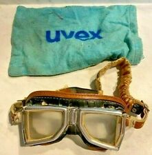VINTAGE 1960S CLIMAX MOTORCYCLE RACING GOGGLES