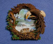 Hamilton Collection Plate Four Seasons of the Eagle Spring Awakening