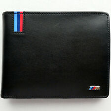 BMW M Style Power Racing Car Motorsport Accessory Sport Hand Made Leather Wallet