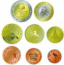 Slovenia 2007 - Set of 8 Euro Coins (UNC)