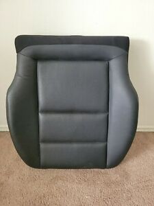 W204 MERCEDES 08-14 C CLASS FRONT LEFT DRIVER SEAT LOWER BOTTOM CUSHION Blk