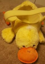 Duck plush Easter basket
