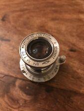 Industar 22 F=50mm 1:3,5, Rotes P, guter Zustand. Von 1954