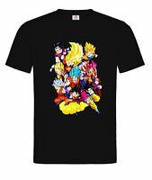 Unisex T-Shirt - Son Goku,vegeto,dragonball z,anime