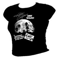 'Hotel California' surf shack The Eagles tribute ladies T-shirt all sizes