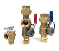 "(LOT of 10) PRESS 3/4"" Tankless Water Heater Valve Kit, Navien,Takagi, Rinnai,"