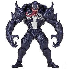 Marvel Spider-Man Model PVC Action Figure Toys Venom Edward Brock Revoltech Gift