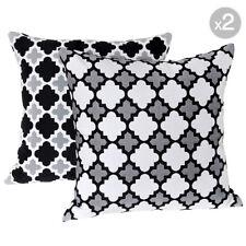 Set of 2. Bells Beach Ash Outdoor Cushion Covers - 45x45cm