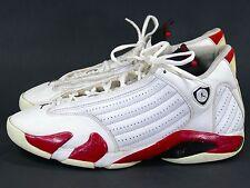 Jordan XIV Sz 13 White/Red - air retro 2005 candy cane 14 xv xiii xii xi bulls