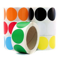 500pcs Kraft Paper Stickers Labels Adhesive Sticker Roll for Gift Pavkaging Tags