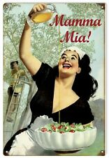 Nostalgic Mama Mia  Restaurant Sign