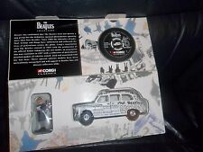 "THE BEATLES CORGI DIECAST MODEL NEWSPAPER TAXI & ""LOVELY RITA"" BOXED No.58003"