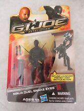 G.I. Joe ~ Retaliation ~ Ninja Duel Snake Eyes Figure ~ New ~ 2012 Hasbro