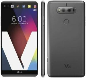Unlocked LG V20 H910 - 64GB 4G LTE (AT&T) GSM World Smartphone -Gray