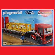 PLAYMOBIL 5467 Baustelle Schwertransporter