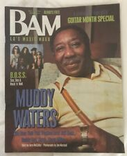 BAM MUSIC MAGAZINE - MUDDY WATERS - B.O.S.S. GUITAR MONTH April 9 1993 #405