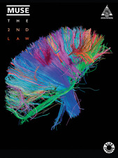 """""""MUSE-THE 2ND LAW"""" GUITAR-TAB/VOCAL MUSIC BOOK BRAND NEW ON SALE SONGBOOK!!"""