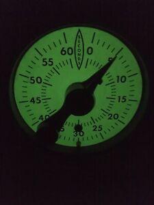 Master Time-O-Lite, Model M-72, Darkroom Enlarger Timer, Glow in the Dark