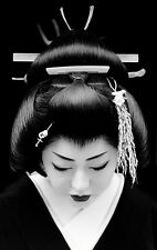 Framed Print - Traditional Japanese Geisha (Picture Poster Oriental Japan Art)