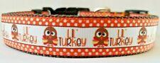 Thanksgiving Lil Turkey Dog Collar