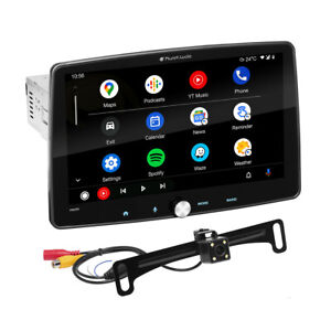 """Planet Audio P100CPAC Single Din 10.1"""" for Apple Car Play Android Auto Bluetooth"""
