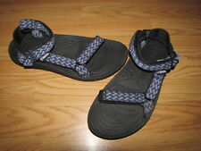 TEVA Gray  Black Blue Flat Sandals - Women's 11 European 44 EUC