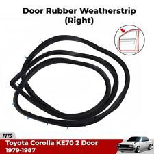 Weatherstrip Belt Door Seal RH Front Fits 1979-87 Toyota Corolla KE70 2-Door Car