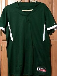 Women's Softball Jersey / Green Size / XXL / Under Armour Authentic / Two Button