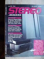 Stereo 6/89 Apogee caliper reference, Electrocompaniet EC 1 mc AW, Sansui CD 717