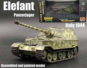 WW2 German Panzerjager Elefant elephant tank destroyer 1:72 finished Easy Model
