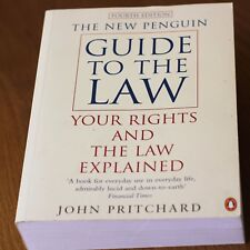 The New Penguin Guide to the Law by John Pritchard (Paperback) 4th Edition
