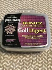 18-New PINK/GRAY PULSAR Q-FIT- Golf Spikes Softspikes!!!!!!!