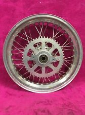 18x3.5 Rear Wheel Flat Track Akront 40 Hole Quick Change Rim Hub 18 3.5 Tracker