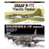 ACADEMY #12533 1/72 Plastic Model Kit USAAF B-17E Pacific Theater Aircraft