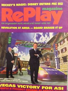 RePlay Arcade Magazine Sega Gameworks Vegas ASI April 1997 012618nonrh2