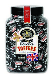 Walkers Nonsuch Liquorice Toffees Gift Jar 1.25kg