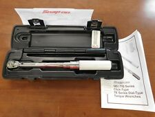 """Snap-on QD1R200 Adjustable Click Torque Wrench 1/4"""" Dr. 40-200lbs Unused NO RESE"""